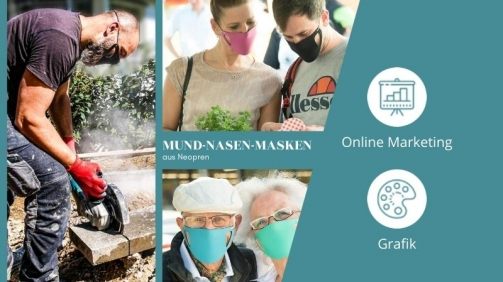 Projektbild Mund-Nasen-Masken aus Neopren