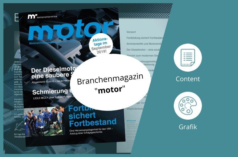 Projektbild Magazin motor