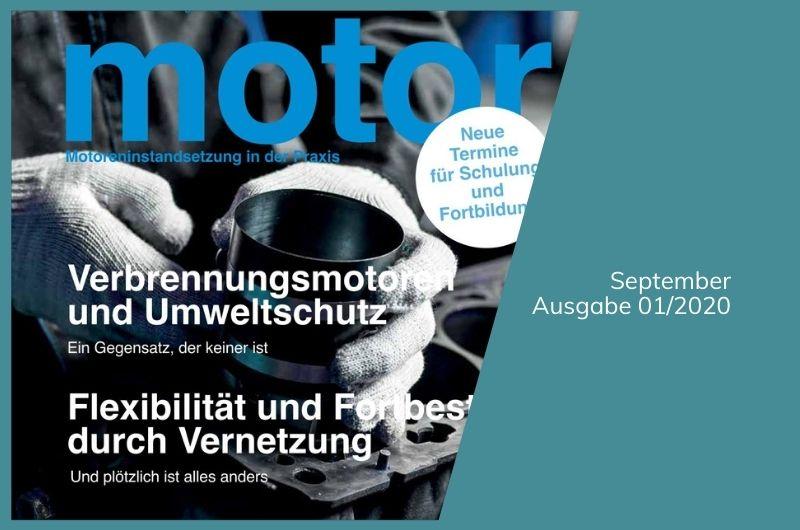 Projektbild Magazin motor Ausgabe 01/2020