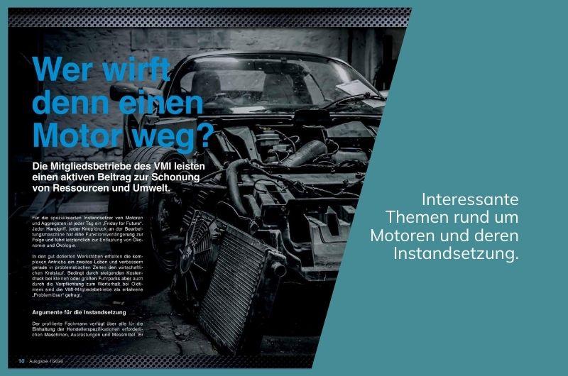 Projektbild Magazin motor Ausgabe 01/2020 Inhalt