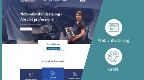 Projektbild Drees Motorentechnik